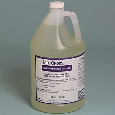 MediChoice Liquid Delimer/Descaler, 1-gal, 4/Case