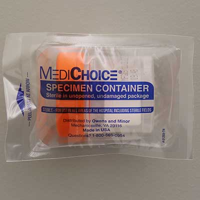 Sterile, Leakbuster Specimen Container, 90ml, 100/Case